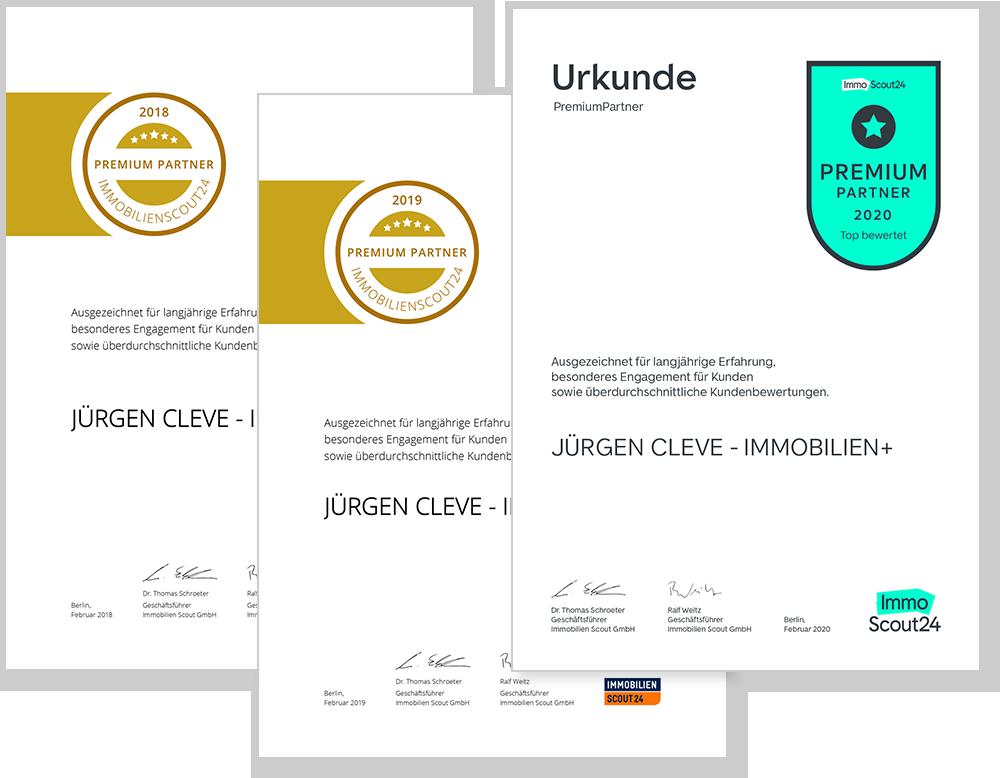 PREMIUM-Urkunden 2018-2020
