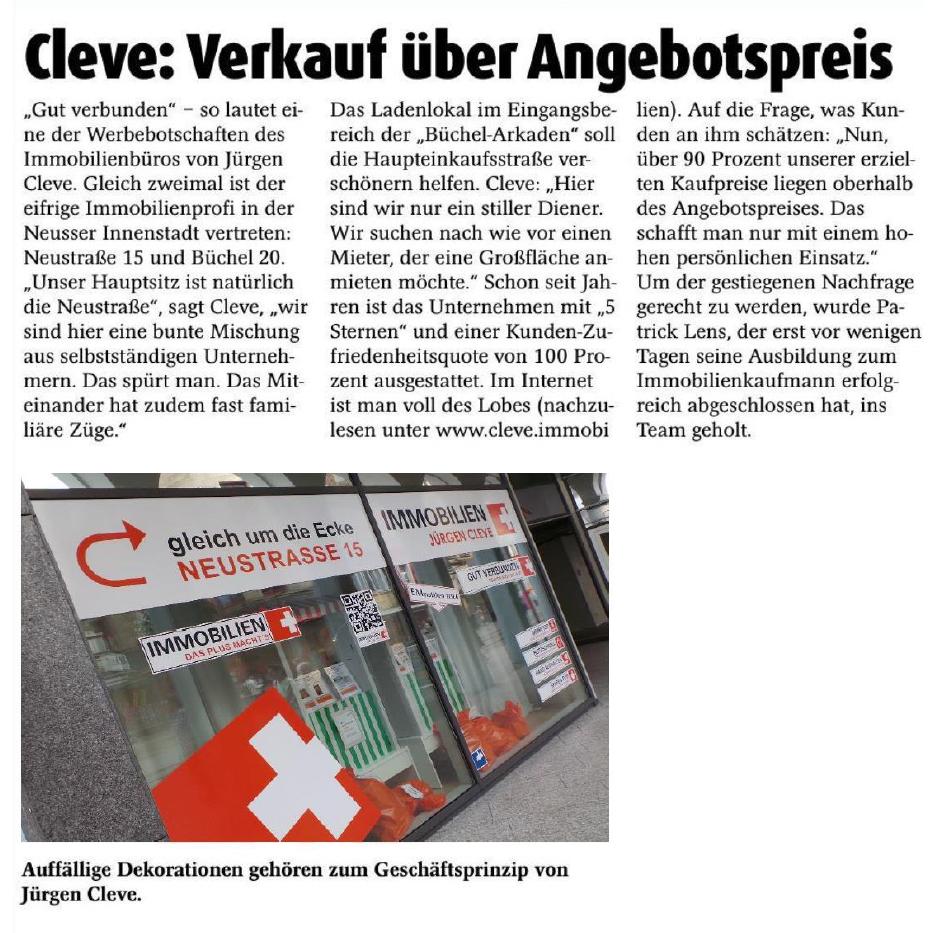 Stadt-Kurier Neuss – Juli 2016